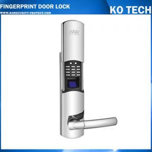 Quality KO-FP201 fingerprint+pins door lock with high security wholesale