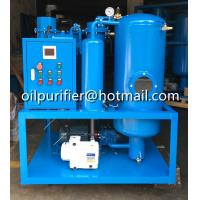 China Turbine Lube Oil Purification Plant, Vacuum dewater,  decolor,particles removal,cleaning on sale