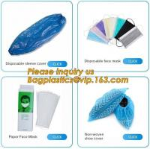 Disposable elastic pe/cpe non-woven shoes cover,Disposable waterproof CPE+PP non