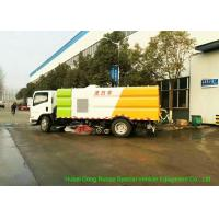 Quality ISUZU EFL 700 Street Washing And Sweeper Truck With Brushes High Pressure Water wholesale