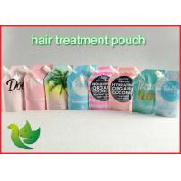 Quality Liquid Packaging Spout Pouch Bags Eco - Friendly For Hair Mask wholesale