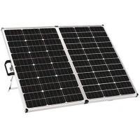 China Foldable  Solid Solar Panel  Controller 140 Watt Mono Cell 42 X 24.5 X 4.5 Inches on sale