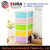 Quality EURA Taizhou High Quality Plastic Drawer Storage Box Injection Mould wholesale