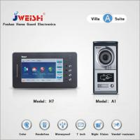 Quality (Villa Kits) TCP/IP 7 inch Touch Screen Indoor Unit & Vandal-resistent Outdoor Station wholesale