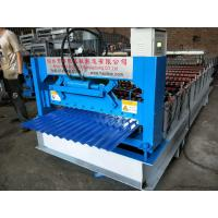 Quality Type 850 Corrugated Roll Forming Machine With 4KW Hydraulic Power feeding 1000mm decoiler  4 tons wholesale