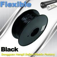 Cheap 1.75mm / 3.0mm 3D Printing Rubber Filament Flexible Material Tasteless And Odorless for sale