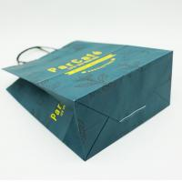 China Birthday Kraft Custom Printed Paper Bags With Handles Holiday Party Durable on sale