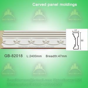 Quality European- style Environmental Decorative PU Plain Panel Mouldings wholesale