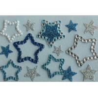 Quality Promotional Clear Epoxy Star Shaped Stickers Printable Die Cut For MP3 wholesale