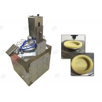 Quality Tart Shell Snack Making Machine , Snacks Manufacturing Plant 304 Stainless Steel Material wholesale