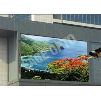 Quality Huge Advertisement P6 Outdoor Advertising LED Display Water Resistance 576mm x 576mm wholesale