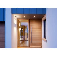 Quality Commercial Solid Wood Interior Doors With Glass , Solid Wood Front Doors For Homes wholesale