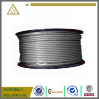 7x19 aircraft cable steel wire cable steel wire rope