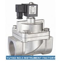 Quality Pilot Operated NC Solenoid Valve High Pressure  , 15mm Solenoid Valve SS304 wholesale