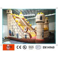 Quality Entertainment safety inflatable water slides , inflatable pool slides for aqua water park wholesale