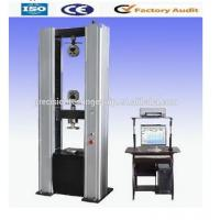 Quality WDW-D Floor Type Comuputer Servo Electromechanical Tensile Testing Machine / Universal Testing Machine wholesale