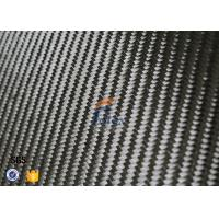 Quality Black Twill Weave Carbon Fiber Thermal Insulation Materials 3K 6oz 0.3mm wholesale