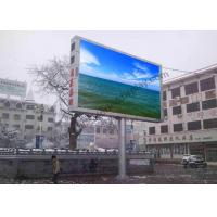 Quality P10 1/2 Scan Outdoor Fixed LED Display Screen Energy Saving , High Brightness wholesale