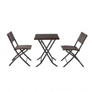 Quality Commercial Bistro Table And Chairs Set Customized Color wholesale