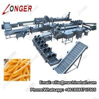 Quality Full Automatic French Fries Making Machine|French Fries Production Line Manufacturer in China wholesale
