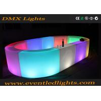 Quality Plastic Led Bar Counter Smooth Moulding With lithium Battery wholesale