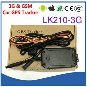 Cheap 3G WCDMA & Quad-Band GSM Car Vehicle GPS Tracker LK210-3G Cut-off Oil & Power for sale