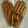 Buy cheap men sheepskin black leather gloves goatskin leather gloves from wholesalers