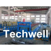 Quality Steel Structure Floor Deck Roll Forming Machine for Roof Deck, Steel Tile TW-FD1250 wholesale
