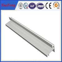 Quality customized extruded aluminium enclosure cleanroom t shape extrusion profile wholesale