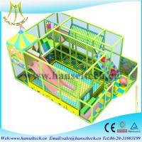 China Hansel playing  soft play equipment indoor and outdoor  for children on sale