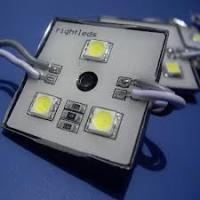 China 4pcs 0.3W / 12VDC / yellow / blue SMD LED Module with Plastic Case on sale