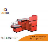 Quality Shopping Mall Cash Register Display Counter Bright Color For Restaurant wholesale