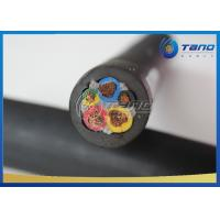 Quality Welding Rubber Electrical Cable / Rubber Coated Cable With Annealed Copper Conductor wholesale