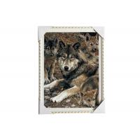 Cheap CMYK Printing Image 3D Lenticular Printing Service PET / PP Animal Pictures for sale