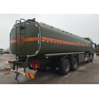 Quality Stable Fuel Tanker Truck SINOTRUK HOWO 30 - 40 Tons For Oil Transportation 8X4 RHD wholesale
