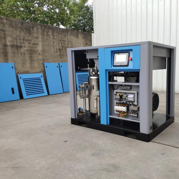 Cheap 40bar 4Mpa screw air compressor 100% oil free PET screw air compressor for sale