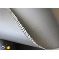 Quality Silicone Rubber Coated Fiberglass Cloth For Thermal Insulation Valve Cover wholesale