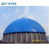 Quality Prefabricated Space Frame Dome Roof Coal Storage Shed Mosque Dome Cement Storage wholesale