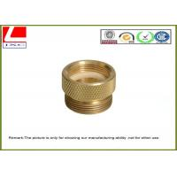 Buy cheap Precision Metal Machining brass forged components , +/-0.02mm Tolerance product