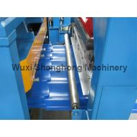 Quality Steel Glazed Tile Roof Panel Roll Forming Machine 0.3-0.7mm  Thickness wholesale