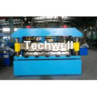 Quality Automatical Steel Roof Wall Panel Roll Forming Machine With 13 - 20 Forming Station wholesale