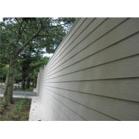China Fiber Cement Composite Wood Siding Panels , Smooth Cement Fiber Clapboard Siding on sale