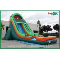 Buy cheap Durable PVC Inflatable Bouncer Slide , Inflatable Water Slide Car Model from wholesalers