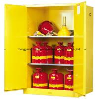 Quality Liquids Flammable Safety Cabinet , Fire Resistant Cabinets Two Shelves Type wholesale