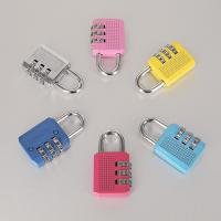 Quality Colorful Resettable Combination Padlock 3 Digit Password Suicase Padlock wholesale