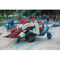 4l-0.5 mini wheat combine harvester with Tyre wheel , 12hp 14hp, sihno machinery limited
