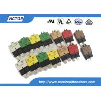 Quality Automatic / Manual reset circuit breaker Metal Body 20Amp 28V DC wholesale