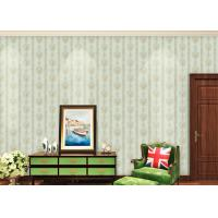 Quality European Style Floral Beige Non Woven Wallpaper for house decoration wholesale