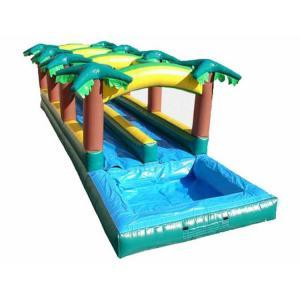 China Giant  Slip N Slide Water Slidewater / Bouncy Slip And Slide  Funny Dual Lane on sale