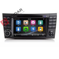 Quality Auto Radio Double Din Gps Car Stereo , Mercedes E Class Dvd Player Built In SD Port wholesale